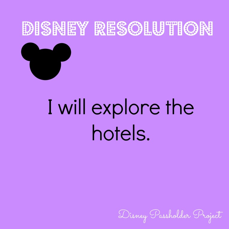 Explore the Hotels - Disney Passholder Project
