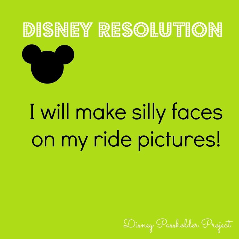 Make Silly Faces - Disney Passholder Project