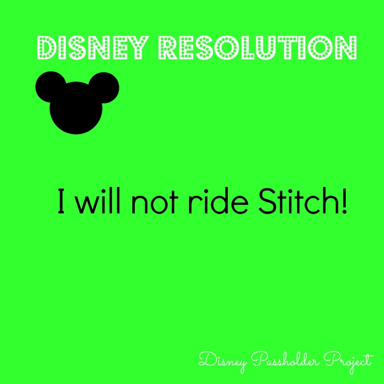 No Stitch - Disney Passholder Project